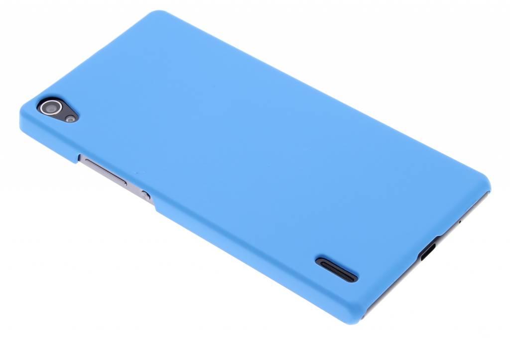 Turquoise effen hardcase hoesje voor de Huawei Ascend P7