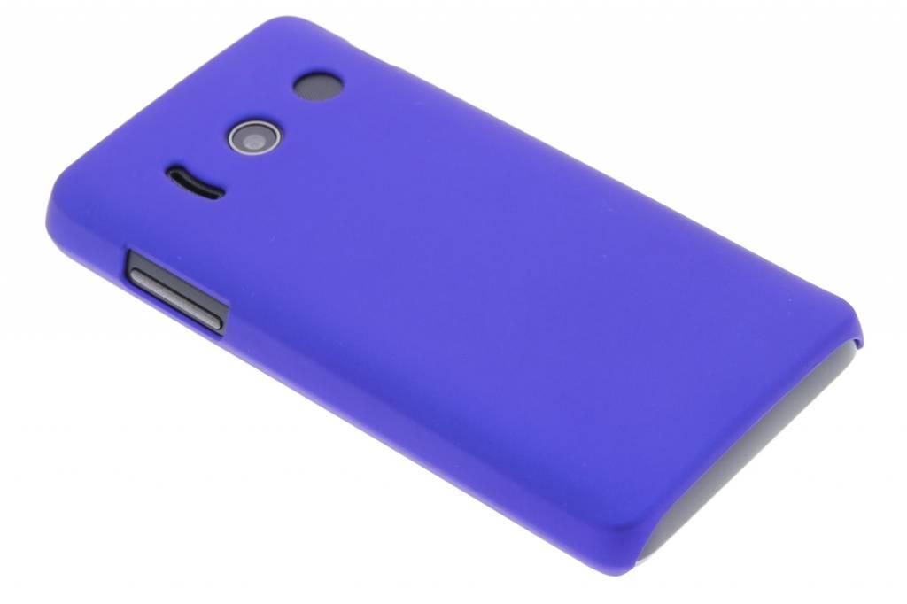 Blauw effen hardcase hoesje voor de Huawei Ascend Y300