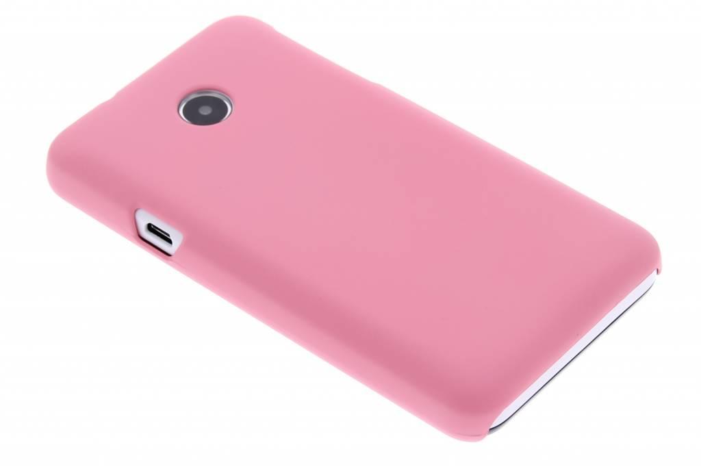 Roze effen hardcase hoesje voor de Huawei Ascend Y330