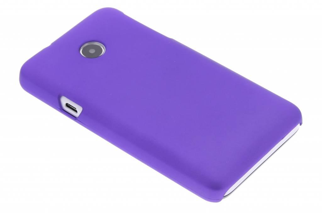 Paars effen hardcase hoesje voor de Huawei Ascend Y330