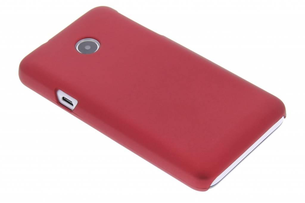Rood effen hardcase hoesje voor de Huawei Ascend Y330