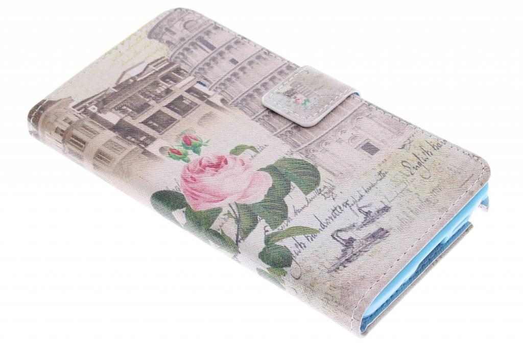 Toren van Pisa design TPU booktype hoes voor de Samsung Galaxy Note 3