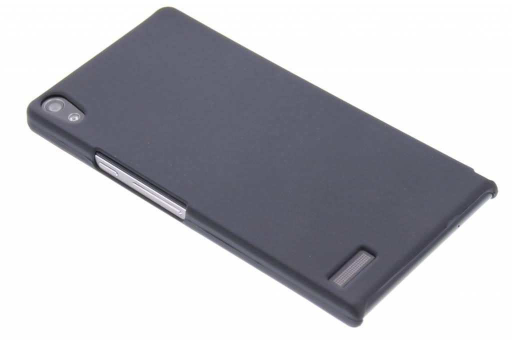 Zwart effen hardcase hoesje voor de Huawei Ascend P6 / P6s