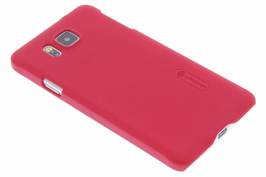 Nillkin Frosted Shield hardcase hoesje voor de Samsung Galaxy Alpha - rood