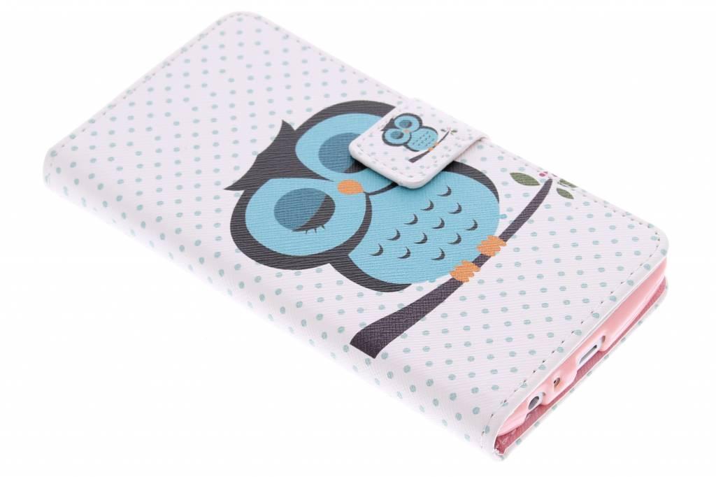 Uil design TPU booktype hoes voor de LG G3