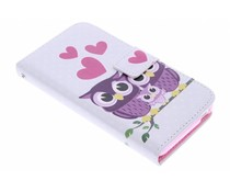 Design TPU booktype hoes HTC Desire 610