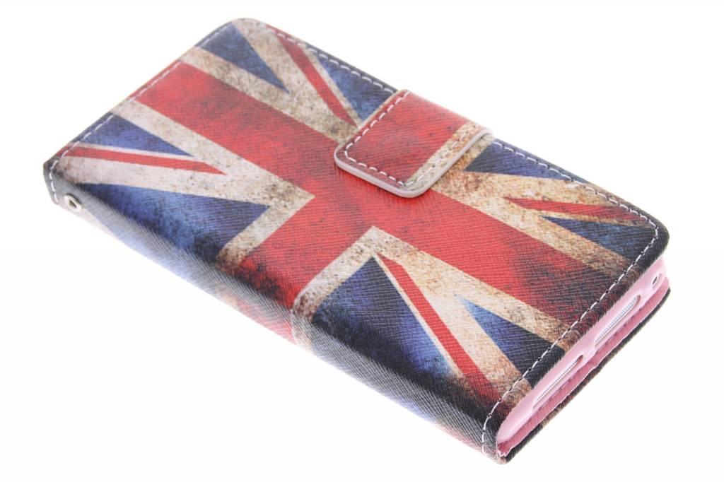 Britse vlag design TPU booktype hoes voor de Sony Xperia Z1 Compact