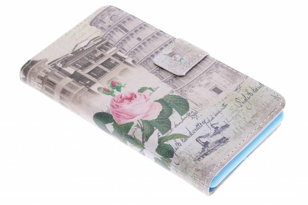 Toren van Pisa design TPU booktype hoes voor de Sony Xperia Z3