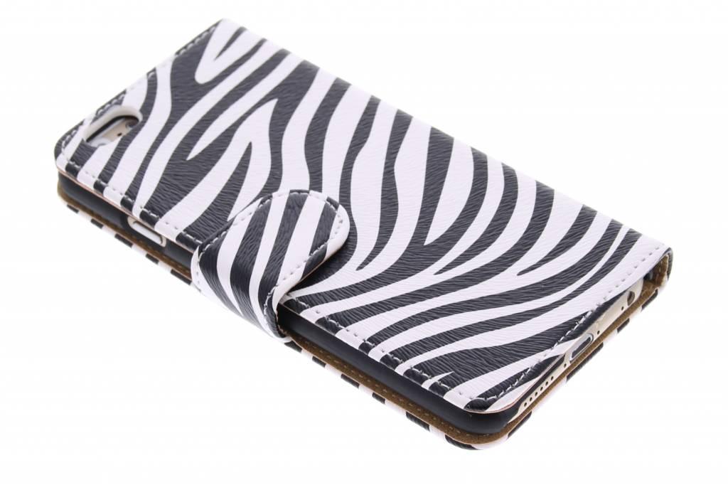 Zebra booktype hoes voor de iPhone 6 / 6s