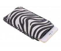 itZbcause Zebra Braided insteekhoesje iPhone 6(s) Plus