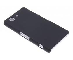 Zwart effen hardcase hoesje Sony Xperia Z3 Compact