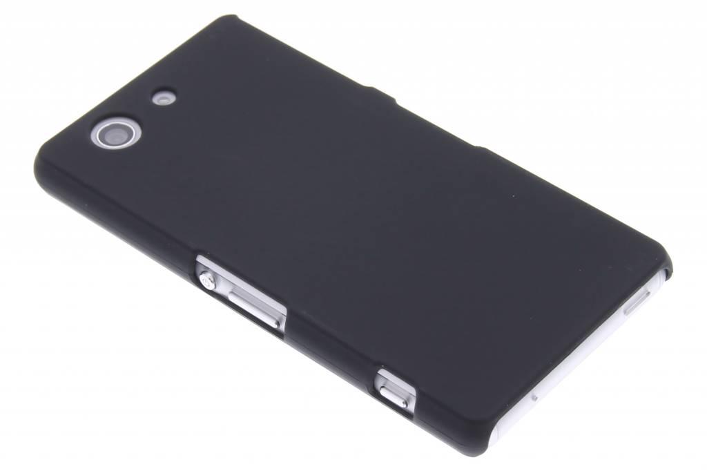 Zwarte effen hardcase hoesje voor de Sony Xperia Z3 Compact