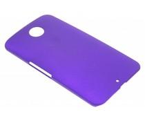 Paars effen hardcase hoesje Motorola Nexus 6