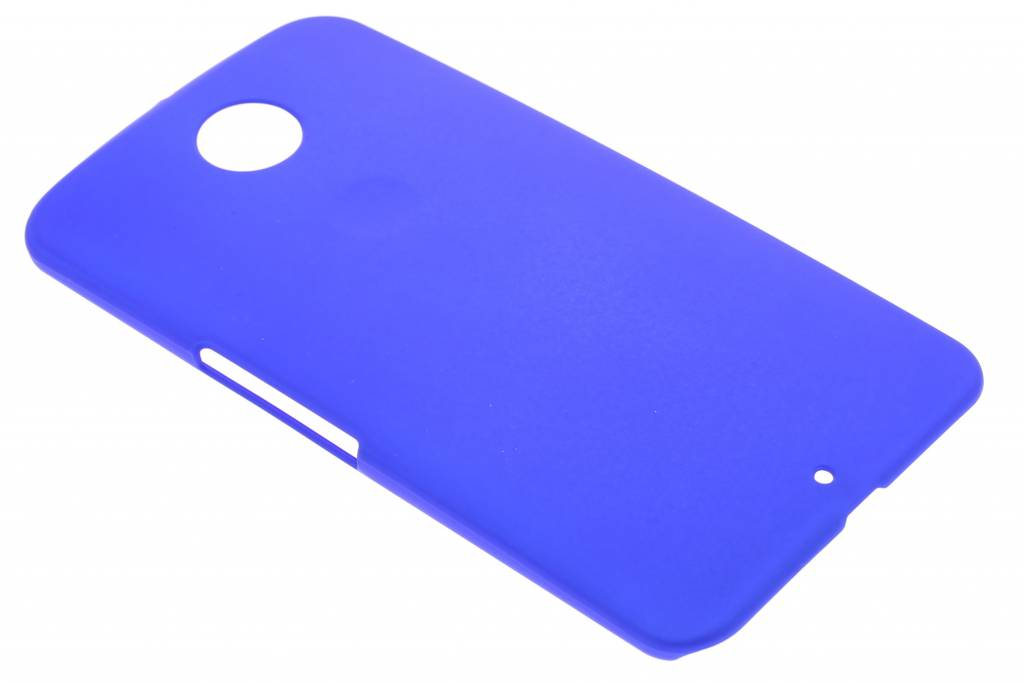 Blauw effen hardcase hoesje voor de Motorola Nexus 6