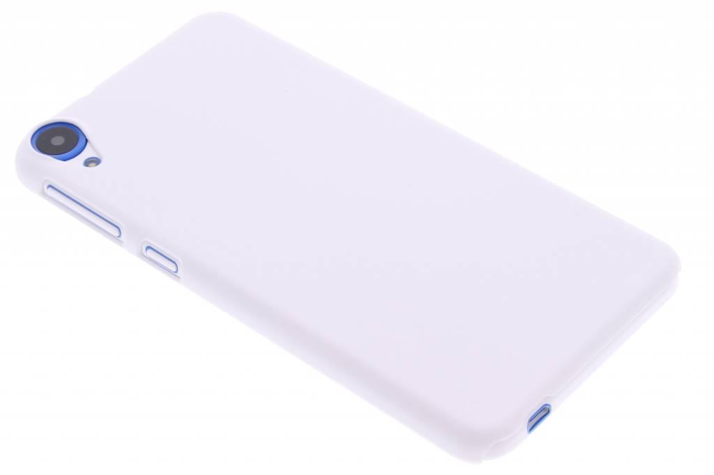 Wit effen hardcase hoesje voor de HTC Desire 820