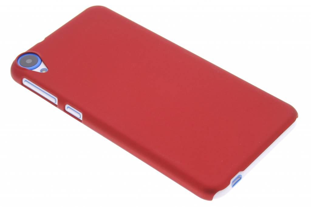 Rood effen hardcase hoesje voor de HTC Desire 820