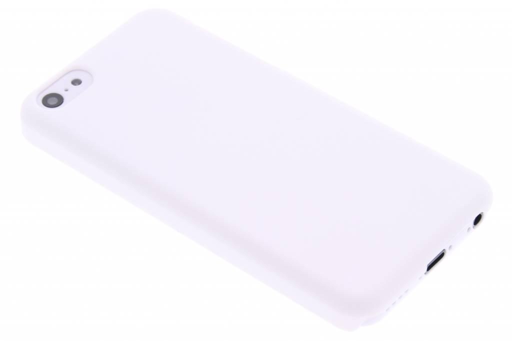 Wit effen hardcase hoesje voor de iPhone 5c