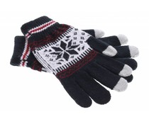Zwart Noorse touchscreen handschoenen