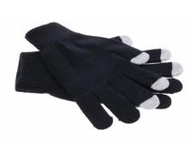 Zwart effen touchscreen handschoenen