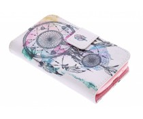 Design TPU booktype hoes Samsung Galaxy Young 2
