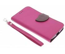 Blad design TPU booktype Motorola Moto G 2nd Gen 2014