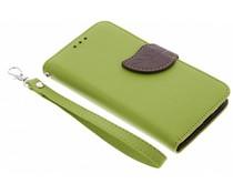 Blad design TPU booktype hoes Motorola Moto G