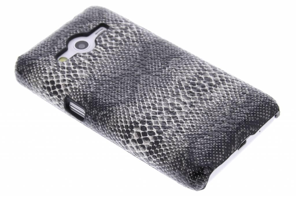 Zwart slangen design hardcase hoesje voor de Samsung Galaxy Core 2