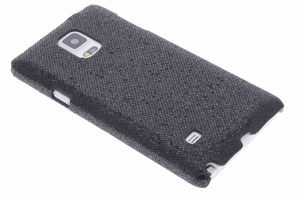 Zwart glamour design hardcase hoesje voor de Samsung Galaxy Note 4
