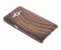 Hout design hardcase Samsung Galaxy Core 2