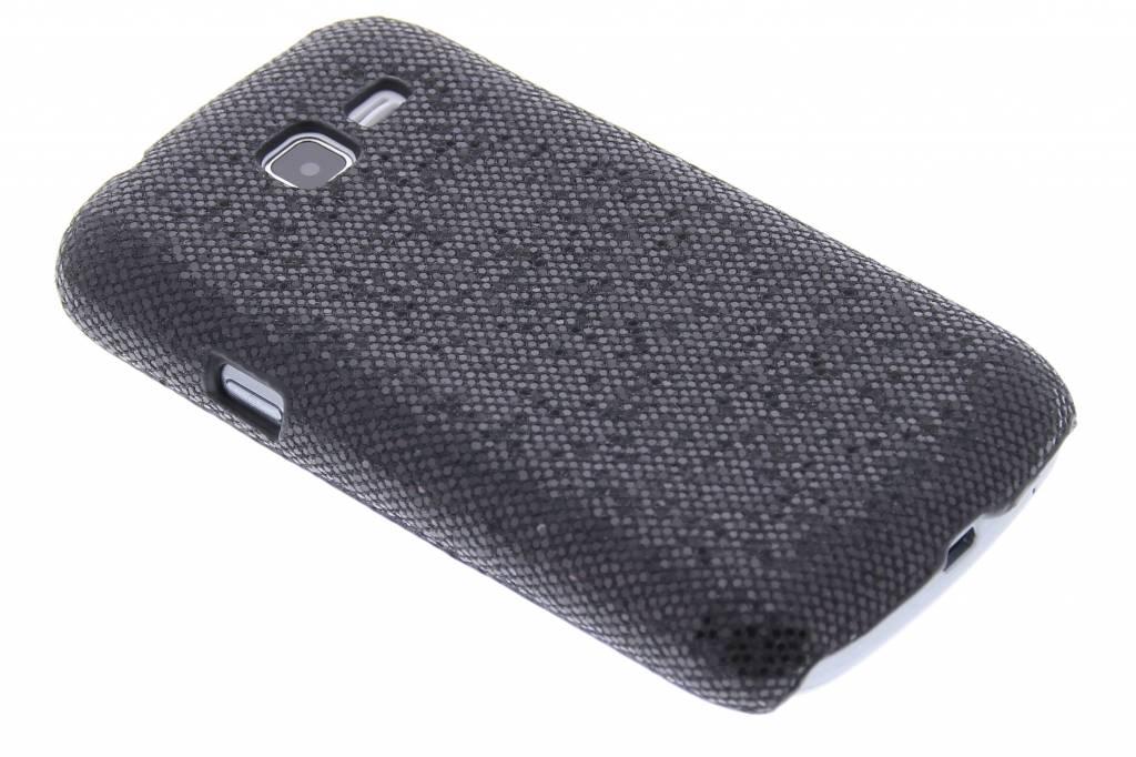 Zwart glamour design hardcase hoesje voor de Samsung Galaxy Trend Lite