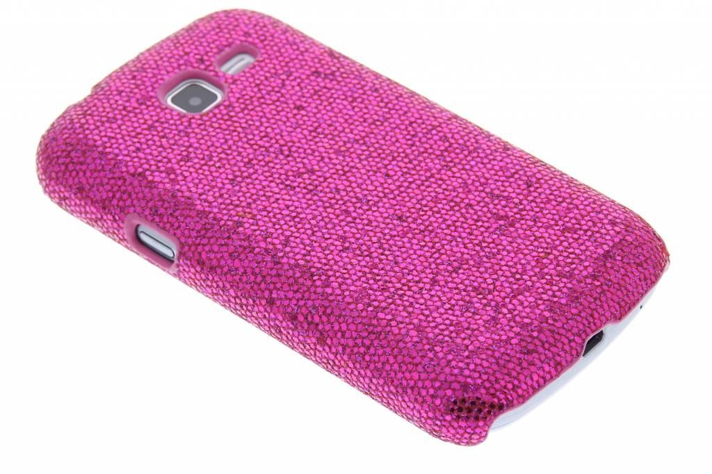 Fuchsia glamour design hardcase hoesje voor de Samsung Galaxy Trend Lite