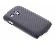 Carbon look hardcase Samsung Galaxy S3 Mini