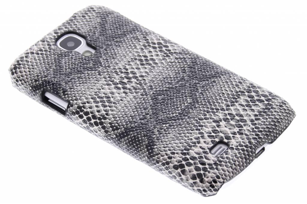 Zwart slangen design hardcase hoesje voor de Samsung Galaxy S4