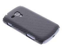 Carbon hardcase Samsung Galaxy S Duos / Trend (Plus)