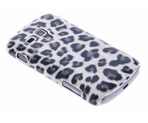 Luipaard design hardcase hoesje Galaxy S Duos / Trend (Plus)