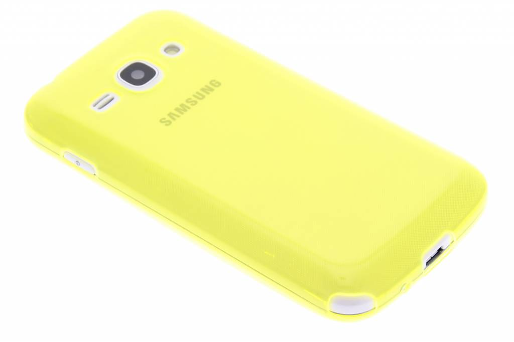 Lime ultra thin transparant TPU hoesje voor de Samsung Galaxy Ace 3