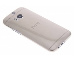 Grijs ultra thin transparant TPU hoesje HTC One M8 / M8s