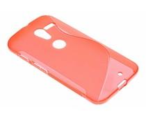 Rood S-line TPU hoesje Motorola Moto X