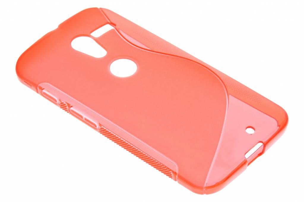 Rood S-line TPU hoesje voor de Motorola Moto X
