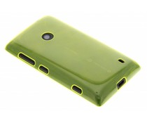 Lime ultra thin transparant TPU hoesje Lumia 520