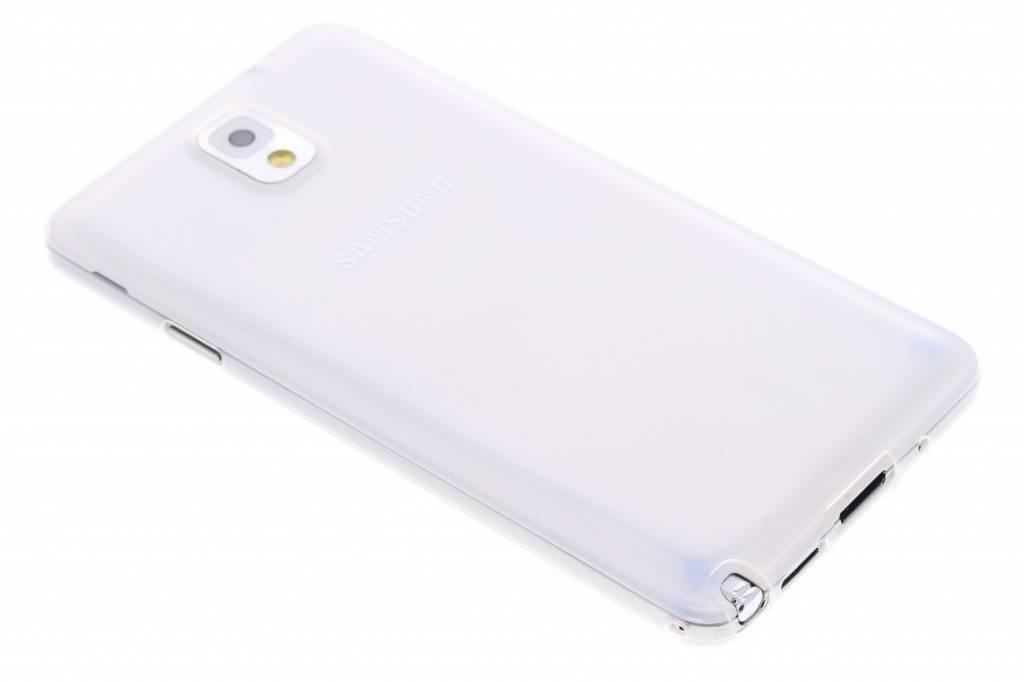 Ultra thin transparant TPU hoesje voor de Samsung Galaxy Note 3