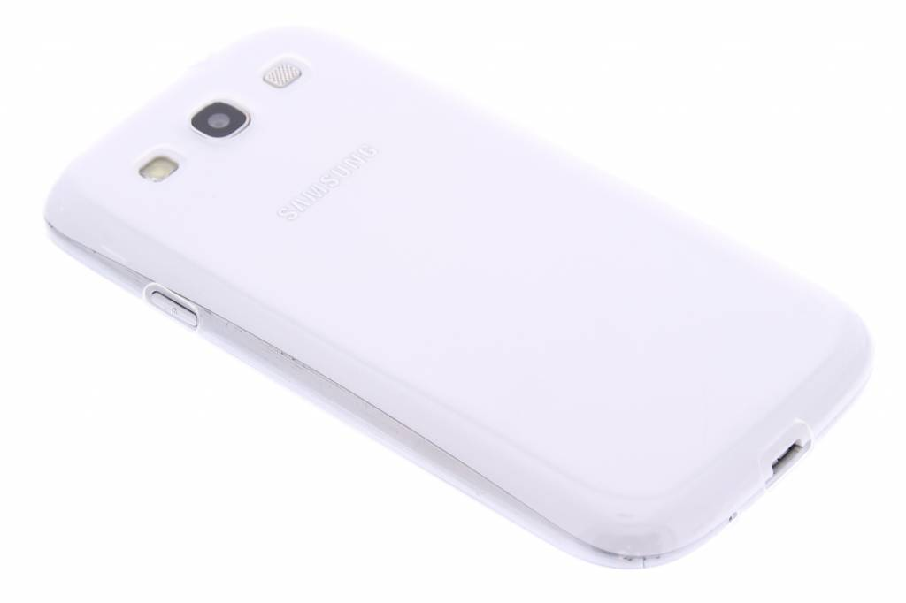 Ultra thin transparant TPU hoesje voor de Samsung Galaxy S3 / Neo