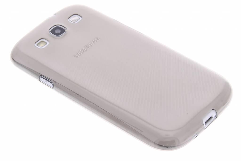 Grijs ultra thin transparant TPU hoesje voor de Samsung Galaxy S3 / Neo