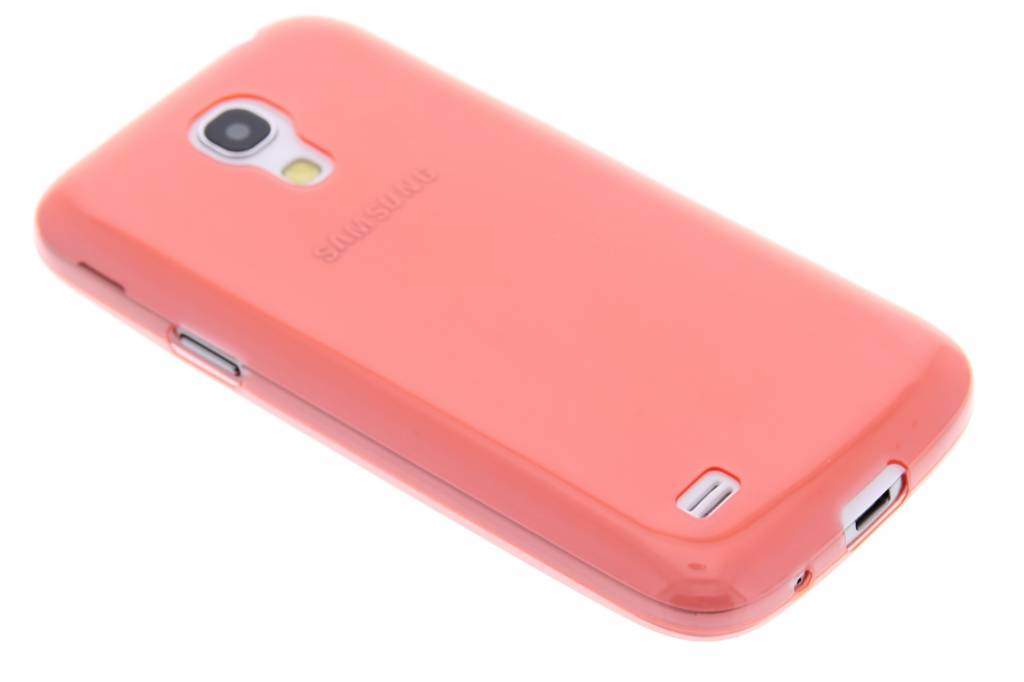 Rood ultra thin transparant TPU hoesje voor de Samsung Galaxy S4 Mini