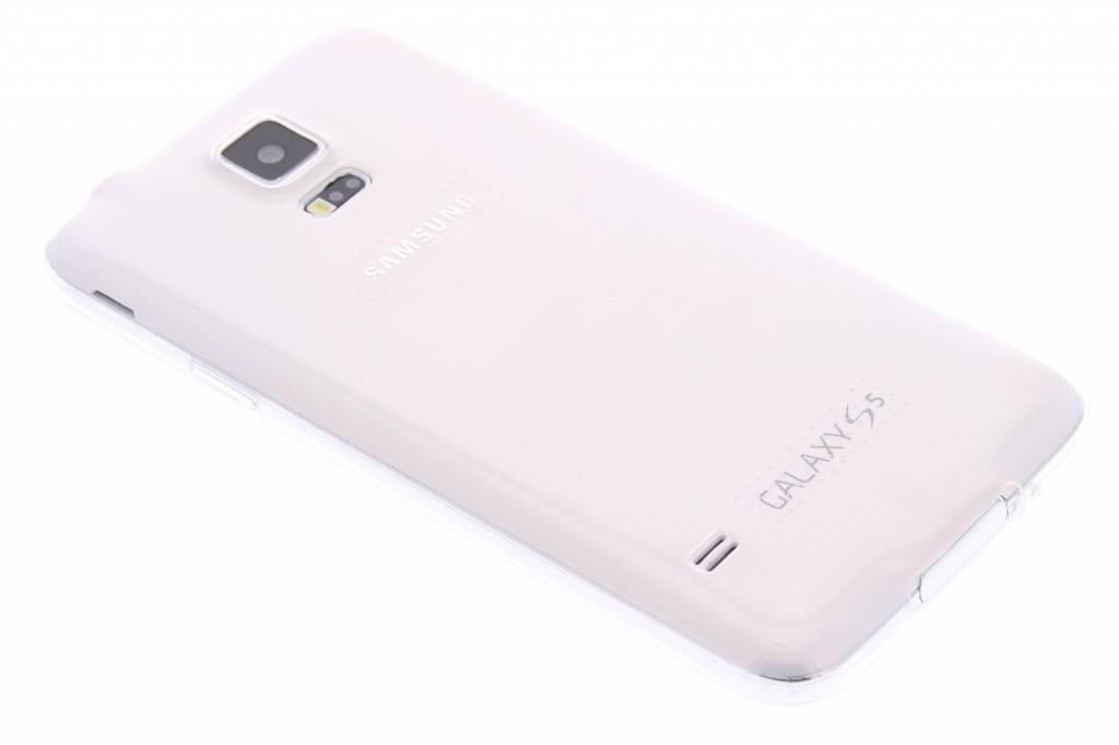 Ultra thin transparant TPU hoesje voor de Samsung Galaxy S5 (Plus) / Neo