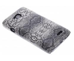 Zwart slangen design hardcase hoesje LG L70