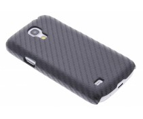 Carbon look hardcase Samsung Galaxy S4 Mini