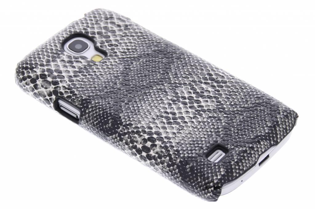 Zwart slangen design hardcase hoesje voor de Samsung Galaxy S4 Mini