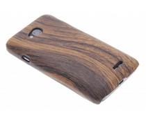 Hout design hardcase hoesje LG L70 / L65