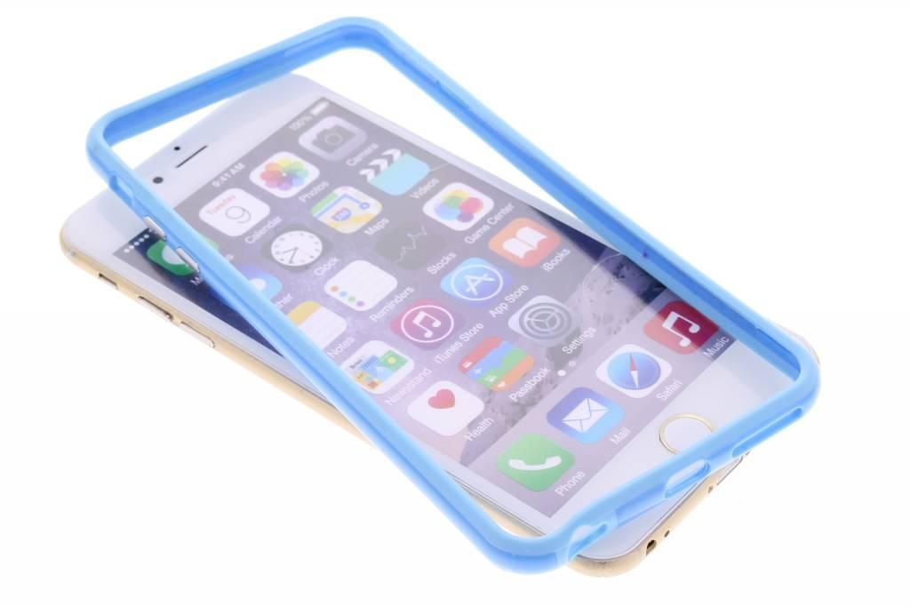 Turquoise bumper voor de iPhone 6(s) Plus